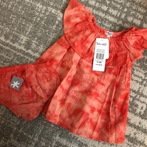 NWT Splendid tie dye dress 6-12M